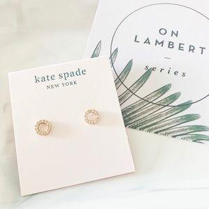 ❗️LAST ONE❗️Kate Spade Pave Circle Stud Earrings